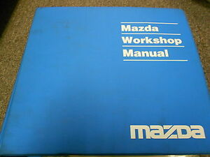 1995 Mazda B-Series Truck Service Repair Workshop Shop Manual FACTORY OEM