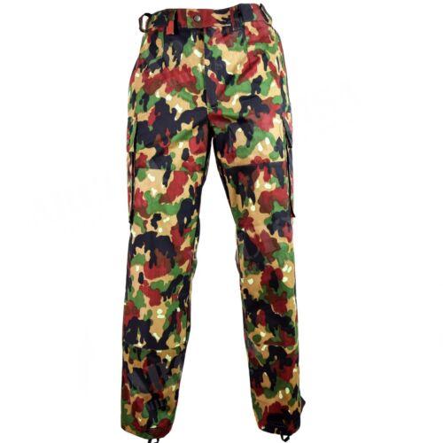Original Swiss army pants M83 combat Alpenflage Camo field trousers Switzerland