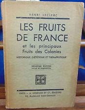 LECLERC LES FRUITS DE FRANCE et les principaux fruits des colonies histor...