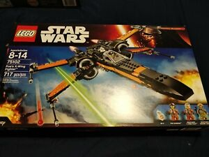NEW-LEGO-75102-Star-Wars-Force-Awakens-Poe-039-s-X-Wing-Fighter