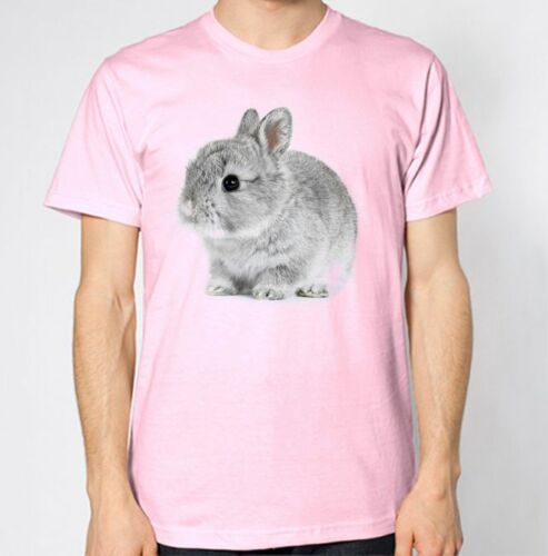 Cute Rabbit New T-Shirt Animal Lover Top Fluffy Adorable