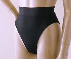 89826c3083 80s 90s High Leg Banded High Waisted Brazilian Bikini Bottom in ...
