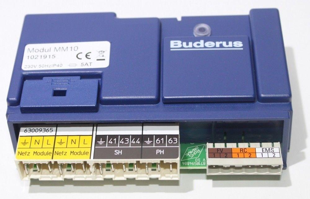 Reparaturangebot Buderus Modul MM10 / 2 2 2 Jahre Garantie auf Funktion 900119