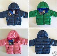 $130 Patagonia Hi-loft Down Sweater Hoodie Toddler Boys' And Girls' 6m