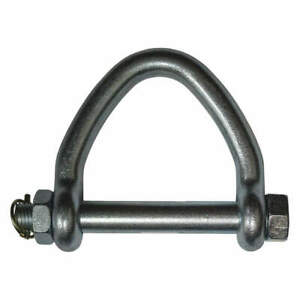 """B/A PRODUCTS CO. 9-W6 Shackle,1-5/32"""" Body Sz,1-1/8"""" Pin Dia."""
