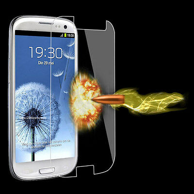 Premium Tempered Glass Film Screen Protector Cover For Samsung Galaxy S3 i9300