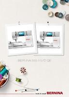 Bernina 555 570 Qe Owners Manual User Guide Instructions Color Copy Reprint