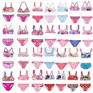 Girls-Bikini-Set-Childrens-Kids-Swimming-Costume-Age-3-8-Years
