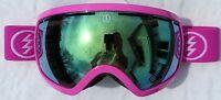 $160 Electric Eg2.5 Womens Winter Ski Pink Ladies Goggles Spy Mirror Roxy Lens