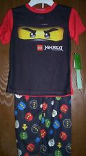 Lego NINJAGO Pajamas Boy's 10/12 NeW Shirt Pants Pjs set Kai Zane Cole Jay Legos