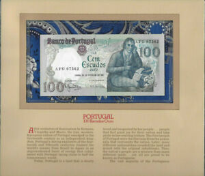 Most Treasured Banknotes Portugal 100 escudos 1981 P 178b UNC LOW AFG07562