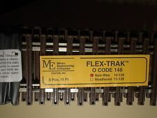 O-SCALE MICRO-ENGINEERING #10-128 FLEX-TRACK CODE 148 NON WEATHERED