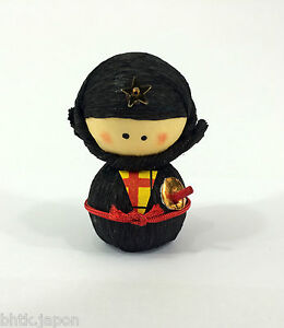 起き上がり小法師 Okiagari Koboshi - Figurine papier maché NINJA ...