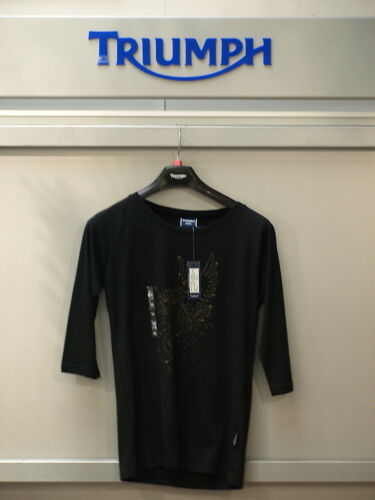 GENUINE Triumph Ladies Rocket /& Stars T Shirt  BNWT 50/% OFF