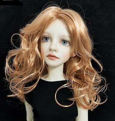 Monique RED 8-9 wig for Wiggs Super Dollfie Dollmore Iplehouse in 2 COLORS