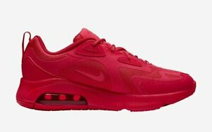 Details about Nike Air Max 200 Women's Athletic Shoes University  Red/University Red CU4875 600
