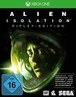 Alien: Isolation -- Ripley Edition (Microsoft Xbox One, 2014, DVD-Box)
