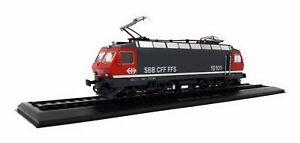 Atlas-1-87-H0-Eisenbahn-E-Lok-Re-4-4-IV-Nr-10101-SBB-Schweiz-1982-Standmodell