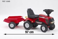 Falk Case Ihcvx 120 Toddler Ride On Tractor And Trailer Car Toy Brand