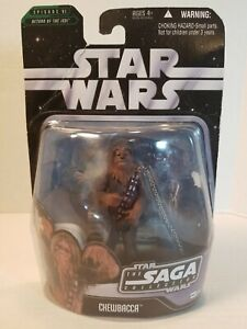 """Star Wars Saga Collection Chewbacca 005 - 3.75"""" Action Figure MIP 2006 New!"""