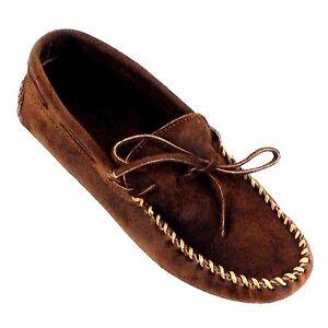 Details MinnetonkaMoccasin Ruff Brown Zu Shoes 793 men's 8nOkXP0w
