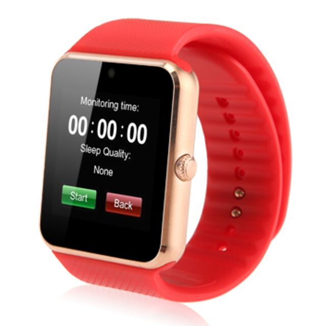 GT08 Bluetooth Smart Watch NFC Wirst Phone Mate SIM &TF Card for Andriod iPhone