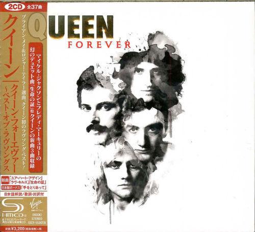 QUEEN-QUEEN FOREVER-JAPAN 2 DIGIPAK SHM-CD+BOOK H40