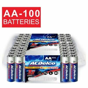 Acdelco Aa Batteries Super Alkaline Aa Battery Bulk Pack