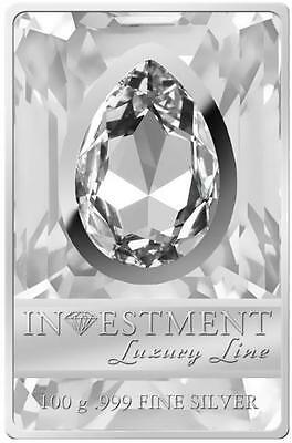 Cook 2013 $20 Silver Luxury Line Ii 100g Silver Proof Coin With Huge Swarovski More Discounts Surprises