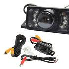 Car Truck Rear View Reverse 7 IR LED Reversing Camera Waterproof Night Vision AU
