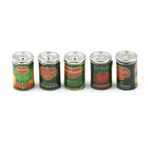 Mini-Fruit-Canned-Dollhouse-Miniature-Food-Kitchen-Doll-Accessories-Xmas-Gift-ME