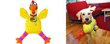 FUNKY DOG TOY Large Fat Cat Barnyard Bully Suspicious Chicken Tough Dog Toy