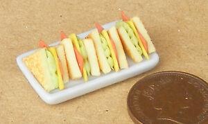 1:12 Maßstab Fisch /& Chip Werbung Tumdee Puppenhaus Pub Cafe Sandwich Brett