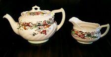 Royal Doulton England Tintern Teapot and Creamer