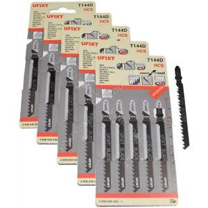 25-x-Jigsaw-Lame-T144D-ad-alta-velocita-legno-taglio-HCS-si-adatta-AEG