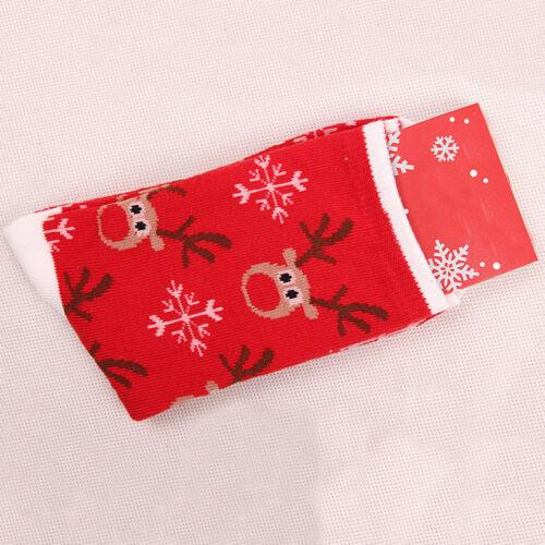 Women/'s Winter Socks Christmas Gift Warm Soft Cotton Sock Cute Santa Claus Deer