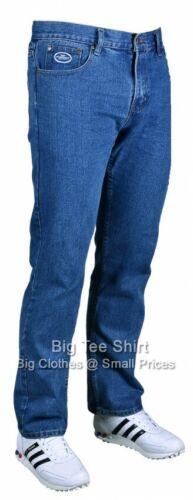 XS BIG da uomo stone wash Kam Tuns 28 pollici il Jeans 44 46 48 50 52 54 56 58 60