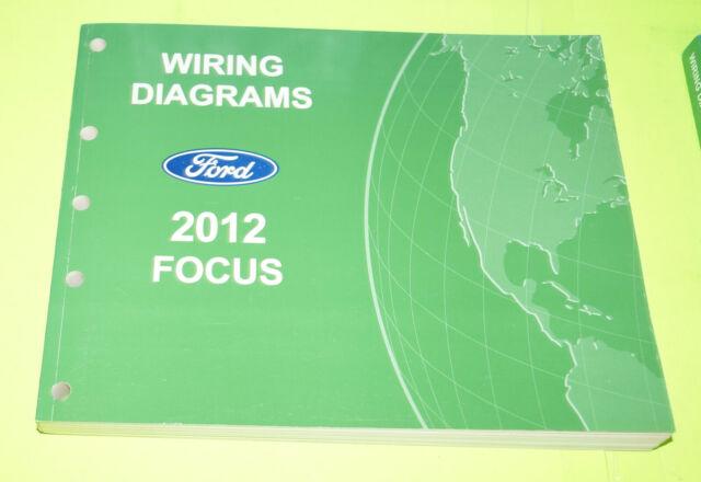 2012 Ford Focus Oem Evtm Factory Wiring Diagrams Repair