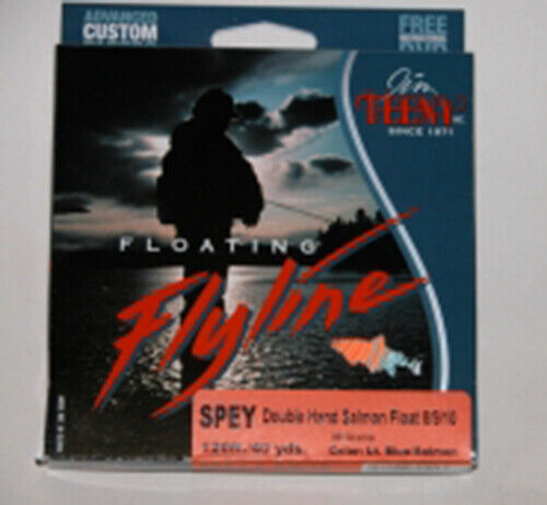 Teeny Spey Line 120 ft (environ 36.58 m) Double Handed 8 9 10 Flottant NEUF