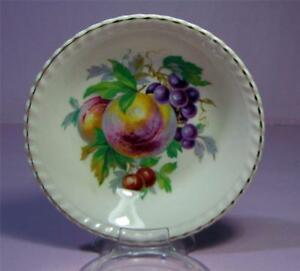 Vintage-Fruit-Jam-DISH-BOWL-Sovereign-Johnson-Pottery-Gold-Gilt-SirH70