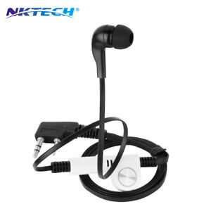 NKTECH NK-H5 Earpiece Headset For BaoFeng BF-F8HP UV-5RTP UV-82 UV on earphone cable, earphone accessories, earphone connector diagram,