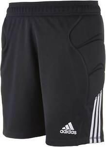 6081f14512 Adidas Men s Tierro 13 Goalkeeper Goalie Black Padded Shorts ...