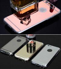 Funda carcasa para iPhone 5 SE 6 7 8 plus silicona espejo...