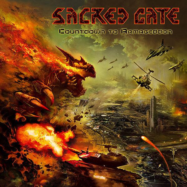 Sacred Gate - Countdown to Armageddon CD #107340