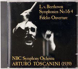 Image Is Loading BEETHOVEN Symphony 1 4 Fidelio TOSCANINI 1939 NBC