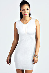 Robe courte blanche - Mariage - Sexy - Glamour