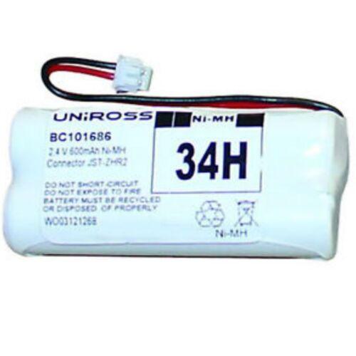 BT Synergy 2000 2010 2020 Battery 2.4V 600mAh GP55AAAH2BMX