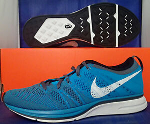new product 049d9 51901 Image is loading Nike-Flyknit-Trainer-Neo-Turquoise-White-Dark-Grey-