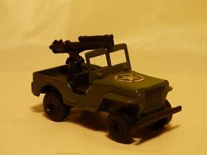 Vintage-1976-Matchbox-Lesney-Superfast-No-38-vehiculos-blindados-aemy-Jeep-Militar-Juguete