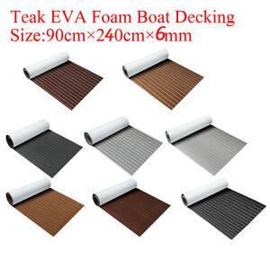 95-039-039-x35-4-039-039-x0-24-039-039-Flooring-Teak-EVA-Foam-Boat-Decking-Sheet-Marine-Faux-Brown